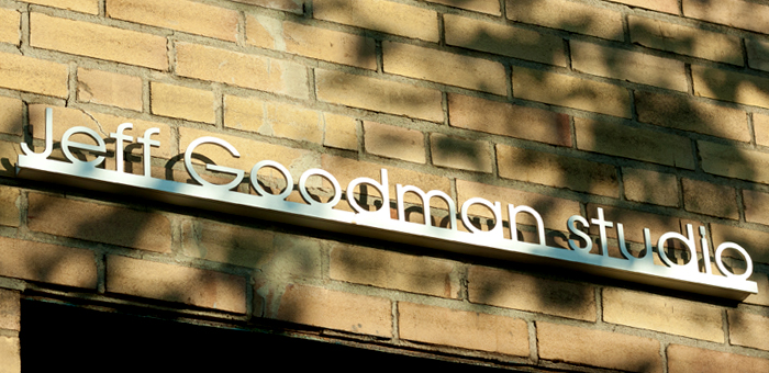 Jeff Goodman Studio Sign